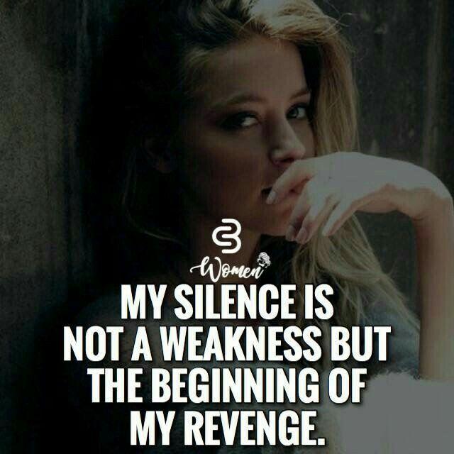 Quotes On Silence Attitude