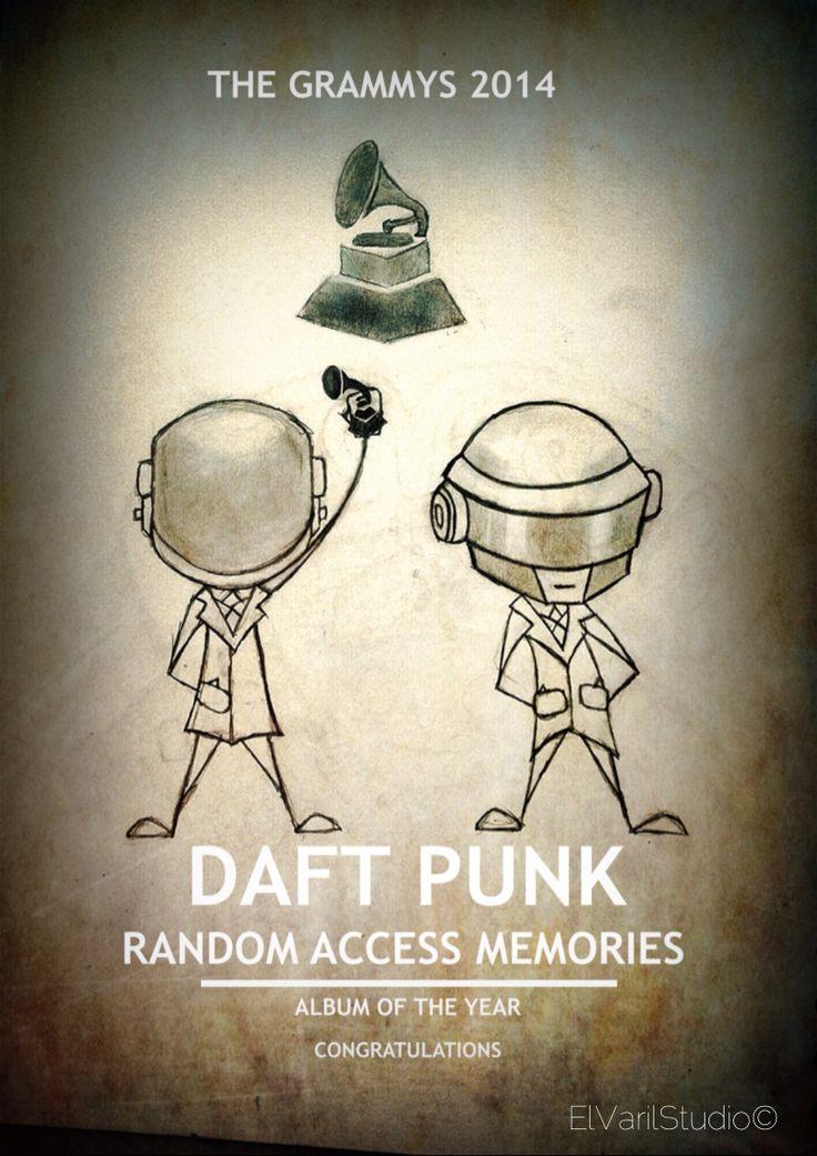 Sketch Daft Punk grammys