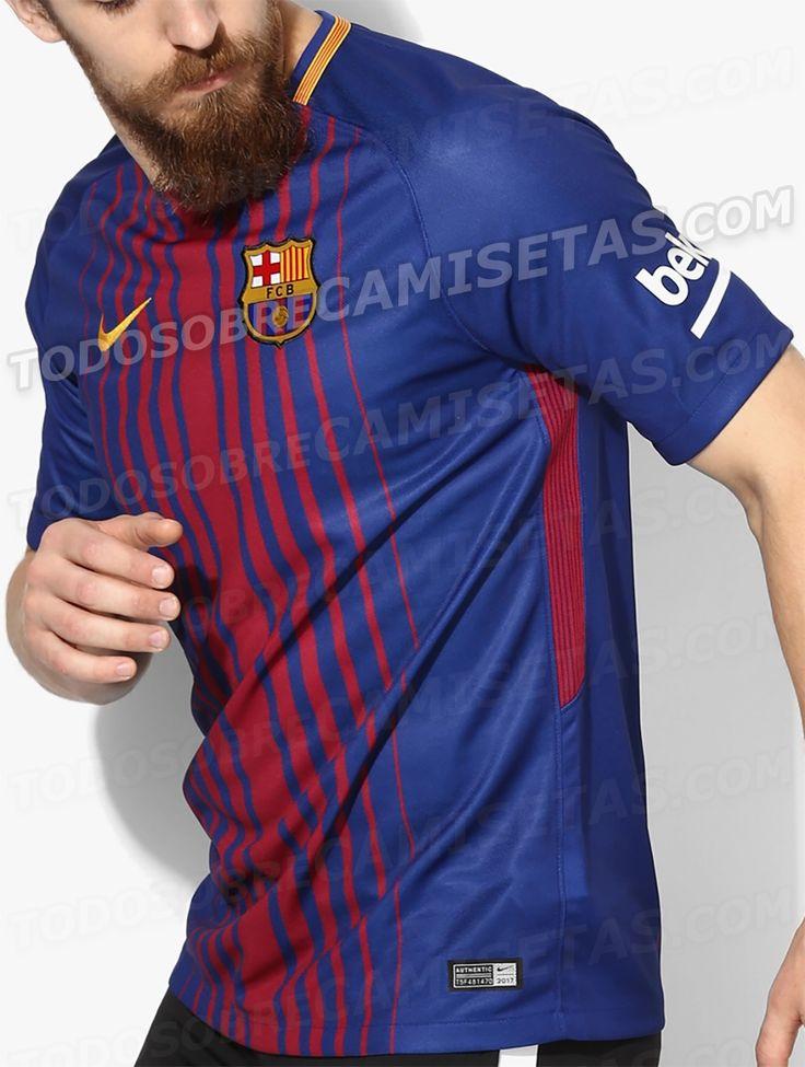 c36bea588ba Camiseta Nike de FC Barcelona 2017-18 Soccer • Club Pinter Arsenal away  Soccer Club Jersey 26. Bayern Munchen Blank Home Long Sleeves Kid ...