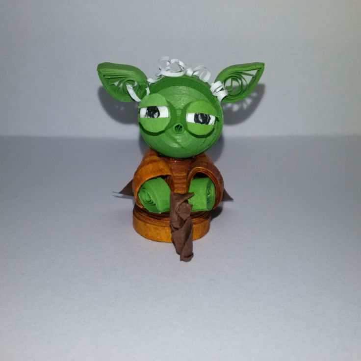 Quilling : Quillingowe gwiezdne wojny / 3D quilling characters from star wars