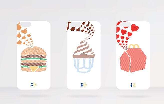 I-Phone-Hüllen von Colette x Mc Donalds.