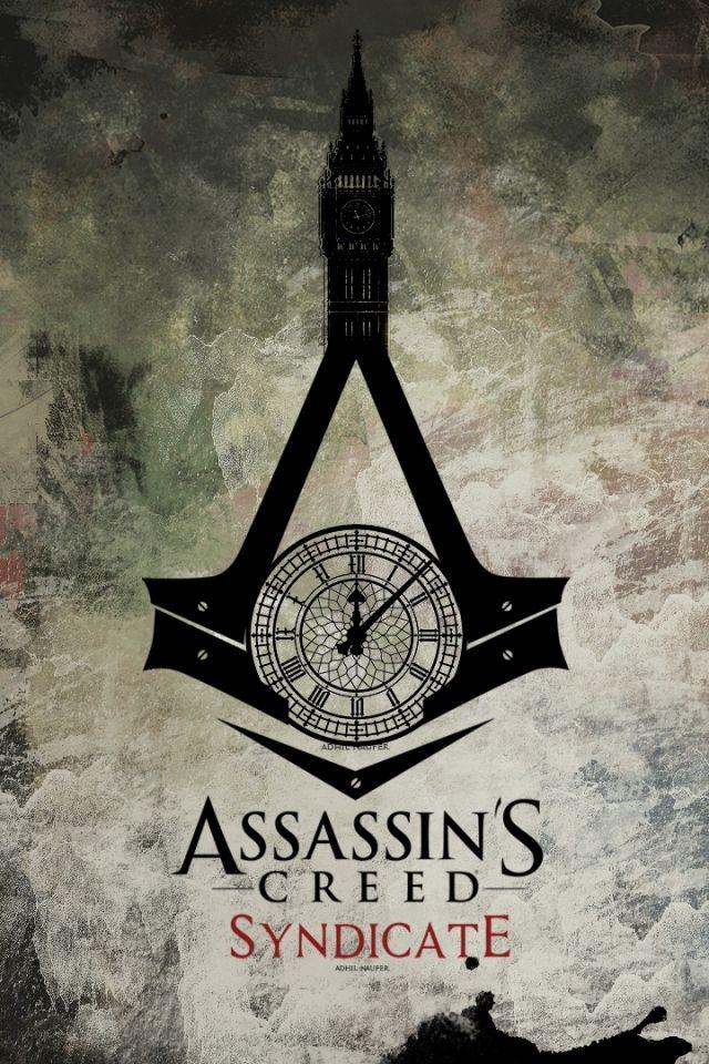 iphone assassins creed logo wallpaper phone