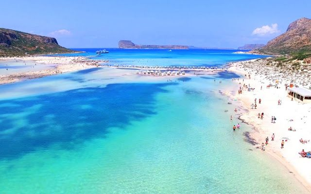 Six out of what exotic beaches in Greece ...