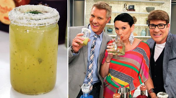 Classic Margarita | Steven and Chris | Once you've got the 411 on Tequila from Cocktail Deeva Dee Brun, here's the perfect recipe to put your knowledge to good use. Ingredients 2 ounces tequila made from 100 percent agave, preferably reposado or blanco 1 ounce Cointreau 1...
