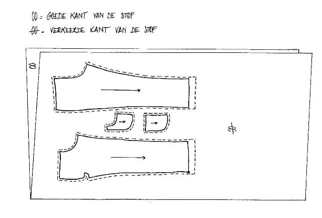 handleiding voor het maken van een broekje met nepgulp en elastische tailleband