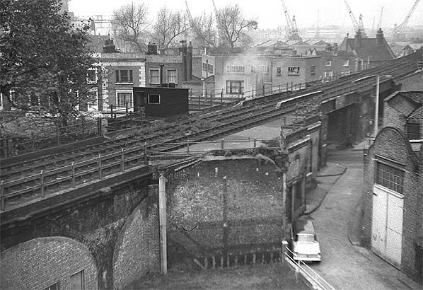 Site of Limehouse Station