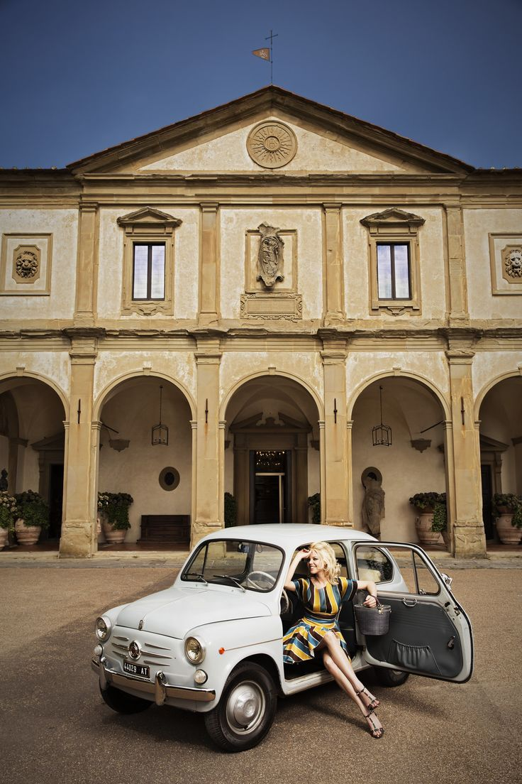 """""""Love on a Pillow"""" Tour in a Vintage Fiat 600"""