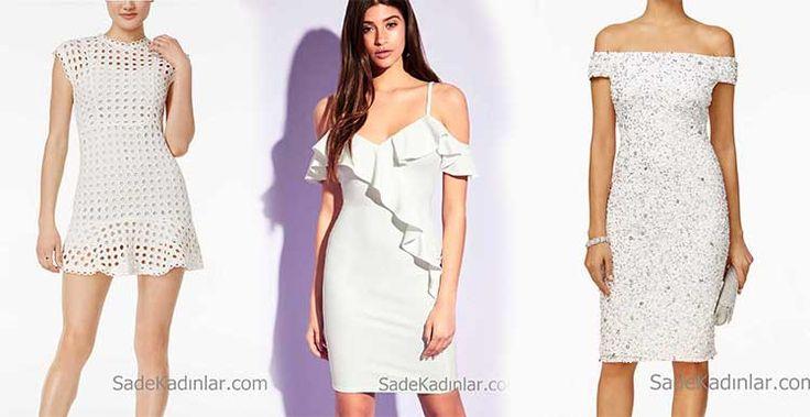 Bu sene dolabınız için en zarif beyaz elbise modellerine yer açın. Çekici vücudu saran, dantel detaylı kısa ve uzun Abiye elbiseler ile şıklığınıza estetik kazandıracak beyaz elbise ler özel gecelerin vazgeçilmezi olacak.