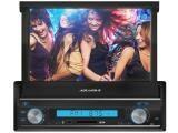 """Som Automotivo Aquarius MPA2003 Retrátil Tela 7"""" - Touch Screen com Entrada USB e SD"""
