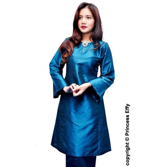 ... Baju Kurung Ramadhani (Thai Silk)