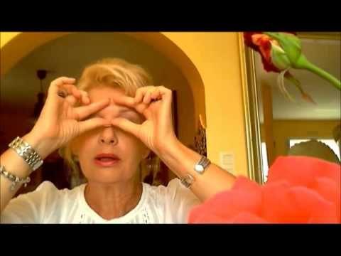 Massage drainant pour rajeunir les yeux