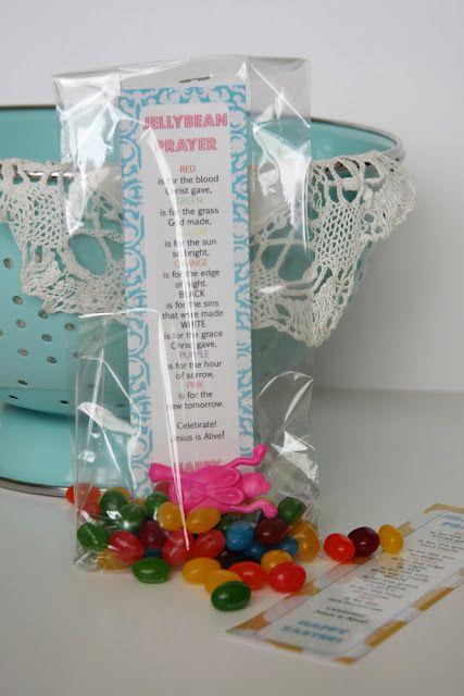 Easter treat bags for Sunday School ~ knittybitties.blogspot.com