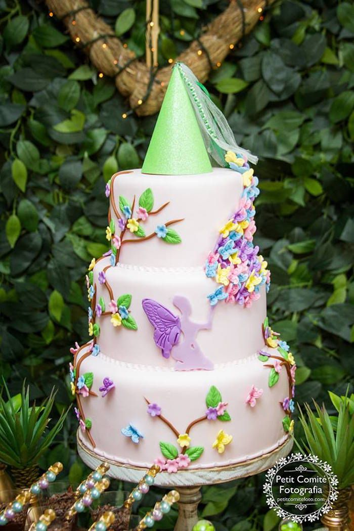 The Fairies Cake Dan Artinya : Meer dan 1000 idee?n over Garden Birthday Cake op ...