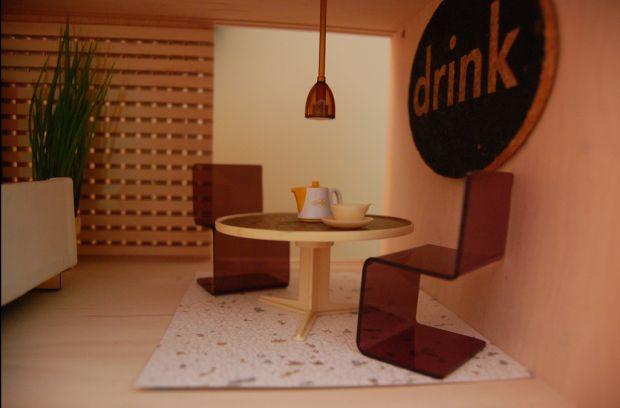 Retro dolls house - Interior