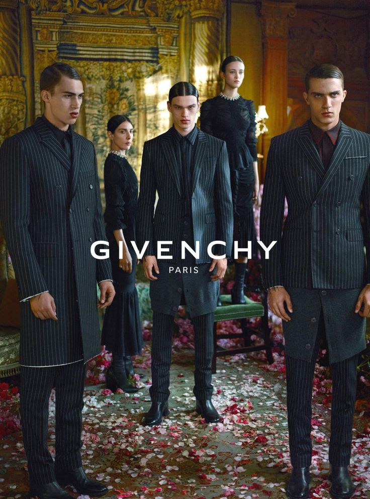 Givenchy Fall/Winter 2015 Menswear Campaign Delivers Opulence