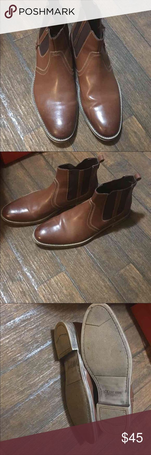 Stacey Adams Slip On Boots Mens, SZ  13 rarely worn ankle boots Open to offers stacey Adams Shoes Boots