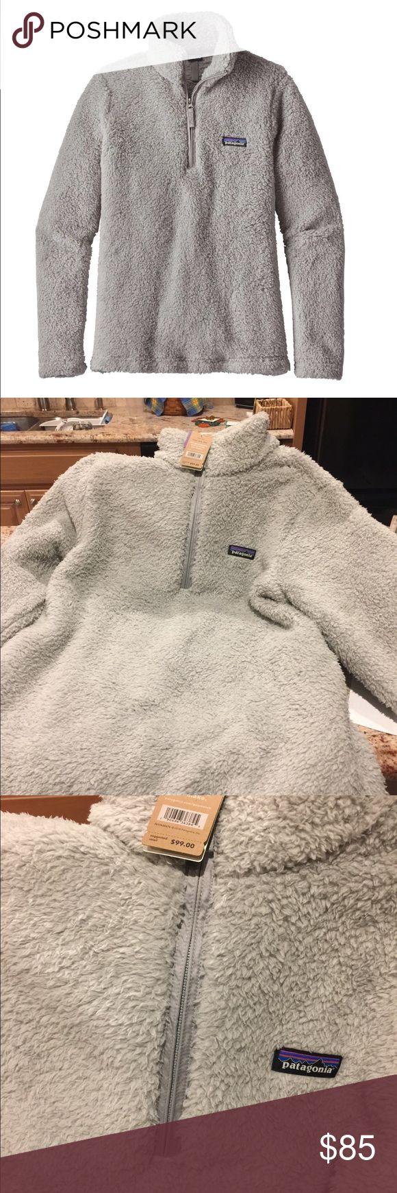 Patagonia Women's Los Gatos 1/4 Zip Fleece S XL New w tags Fleece Pullover Driftwood Grey XL Retail $99 Patagonia Jackets & Coats Vests
