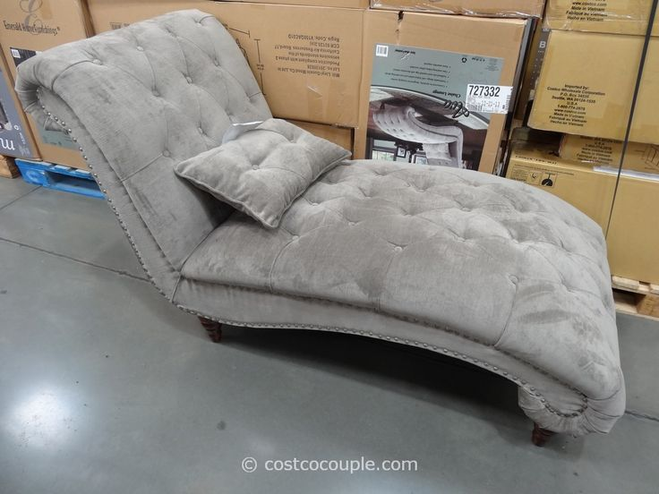 Costco chaise lounge looks better in person room of for Ava chaise lounge