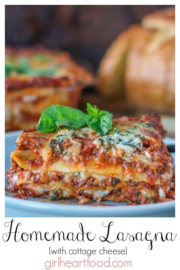 Homemade Lasagna Recipe Simply Delicious Recipe In 2020 Homemade Lasagna Recipes Homemade Lasagna Lasagna Recipe