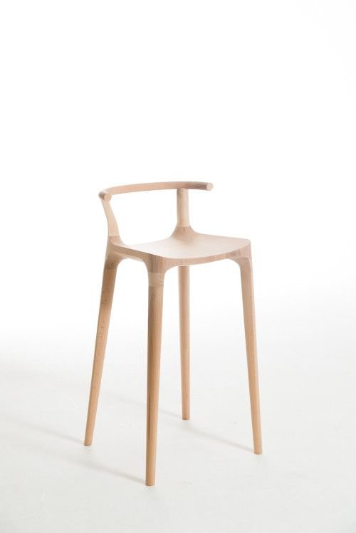 Elka Stool is a minimalist design created by New Zealand-based designer, Oscar Pipson. Inspired by the Cervidae (deer family), specifically ...