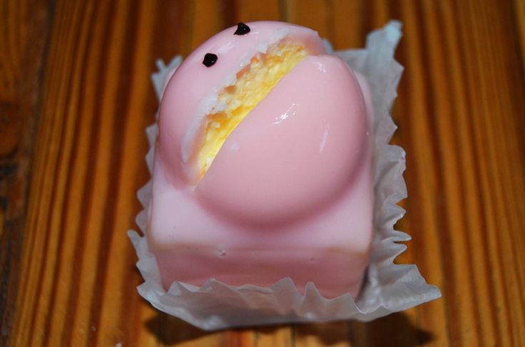 balfours pink frog cake • Adelaide's icons