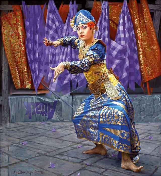 Dede Eri Supria (Jakarta, 1956) - Dancer di Bali, 2012.