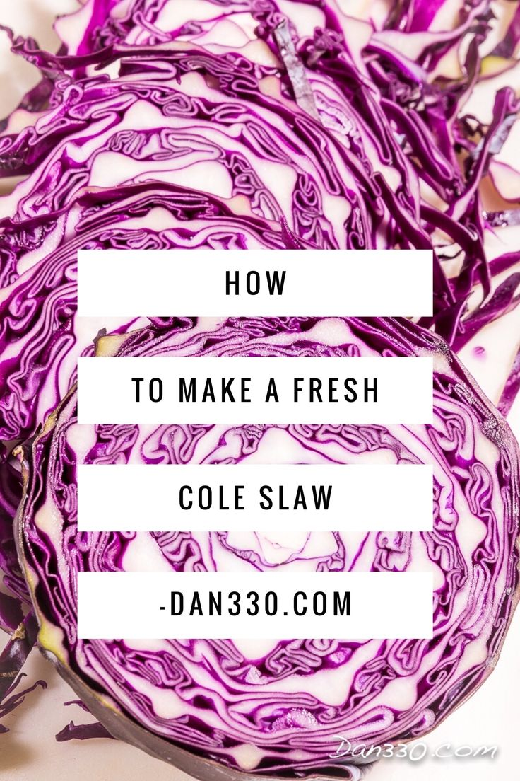 how to make cole slaw