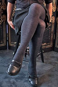 Soft and luxurious merino wool in cozy ribs running from covered waistband to toes for ultimate comfort.