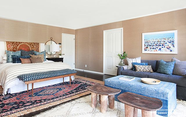 Amber Lewis of Amber Interiors shares with readers how to create your very own Bohemian Bedroom in just a few steps.