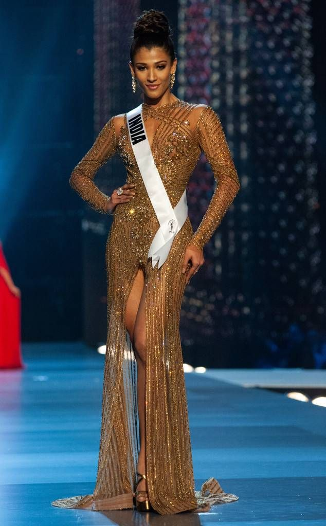 ca7ef2ef7da Miss India from Miss Universe 2018 Evening Gown Competition Nehal Chudasama