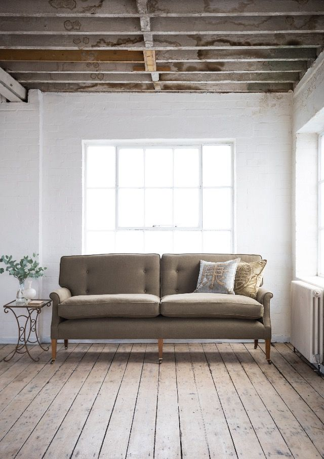Emerson 2.5 Seater Sofa in Bantry Linen.