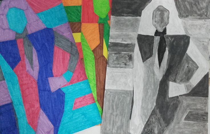 Resultado de las tres gamas de color.