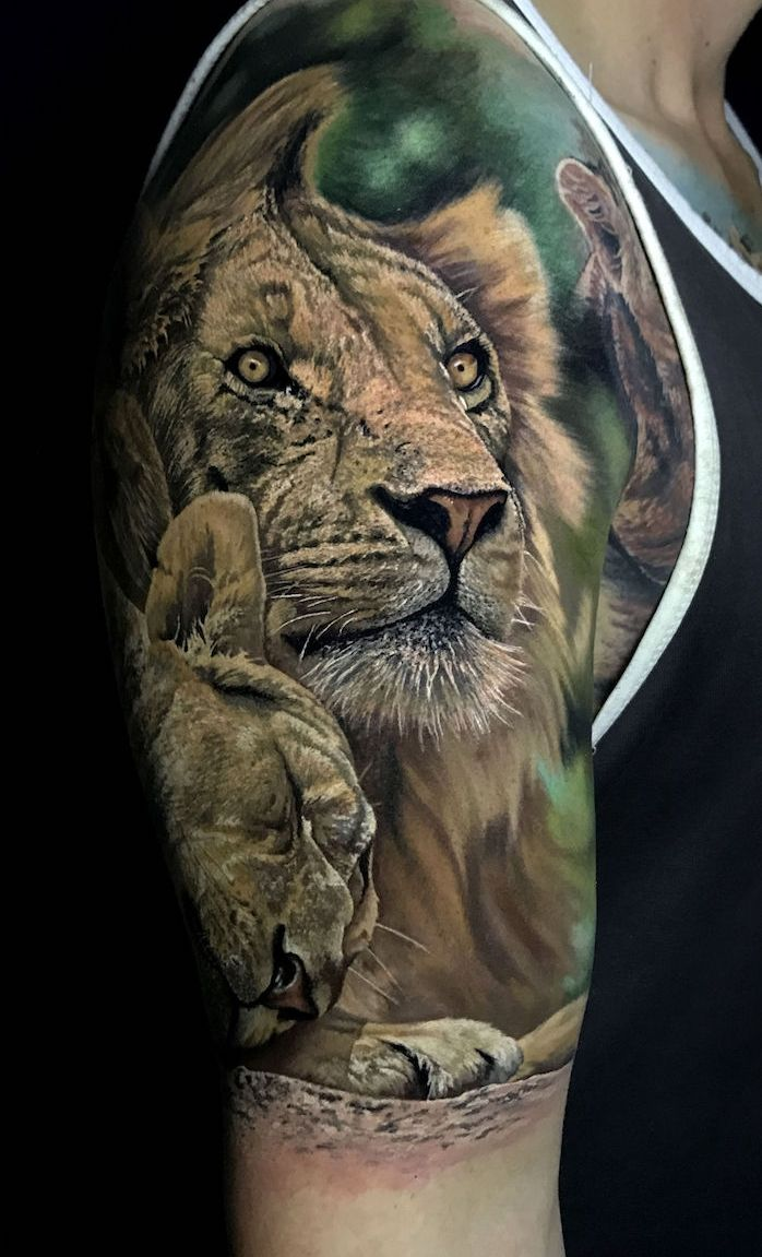 1001 Coole Lowen Tattoo Ideen Zur Inspiration Tattoo