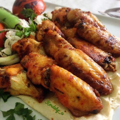 Kordelyanın mutfağı: FIRINDA KANAT IZGARA