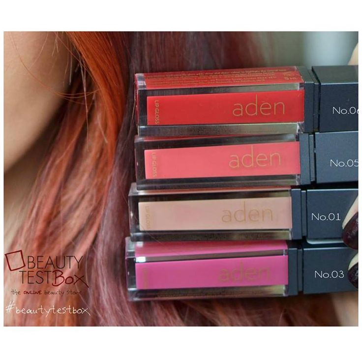 Aden Semi Matte Lipgloss for extra #glossy looks!❤   Find Here ➡ http://www.beautytestbox.com/catalogsearch/result/index/?limit=30&q=Aden+Cosmetics+Lipgloss Aden Cosmetics #beautytestbox #beautybox #beautestboxeshop #beautyteam #cosmetics #musthave #like #follow #beautyblogger #greece #online #beauty #girl #love #beautyygreece #lips #lipgloss #adencosmetics #semimatte  https://youtu.be/KqHod2oij-U