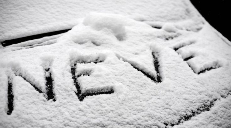 Neve e freddo.. Vicini al ricordo del 1985... #neve #inverno #sogno #freddo