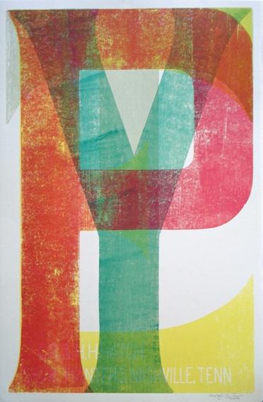 """""""type,"""" hatch show print, nashville tn"""