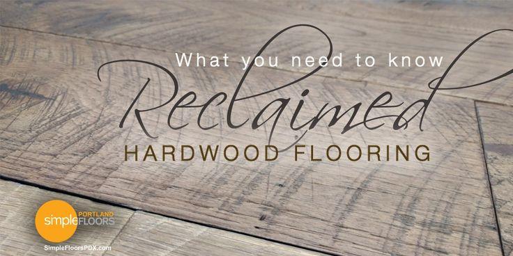 21 best blogs images on pinterest portland bathroom for Reclaimed wood flooring portland
