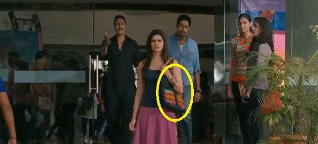 Bol Bachchan movie mistakes