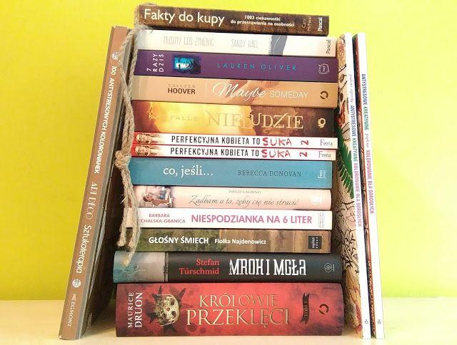 Od marca zdążyłam już uzbierać kilka książek, zatem przyszłą pora, aby je wam zaprezentować. Co prawda nie są to wszystkie książki, ale zdecydowana większość. Enjoy!