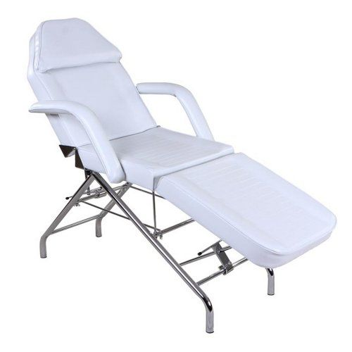 """""""Hera"""" White Facial Spa Tattoo Table Bed & Towel Holder"""