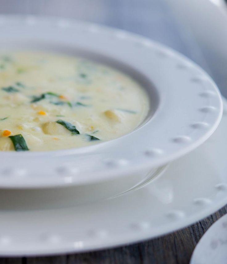 Olive Garden Chicken Gnocchi Soup (Copycat) | Carrie's Experimental Kitchen |