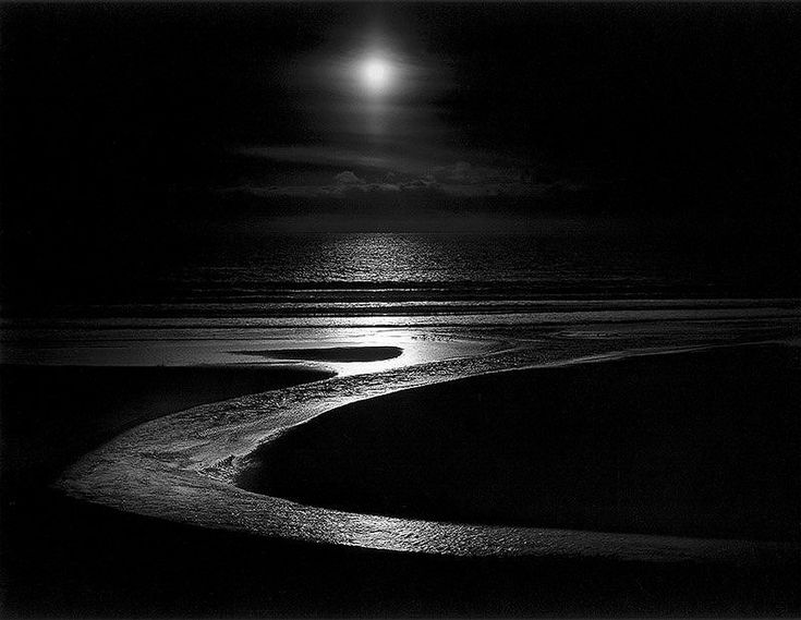 Midnight dreams ☽ dreamy dramatic black and white photography wynn bullock let there be light 1954