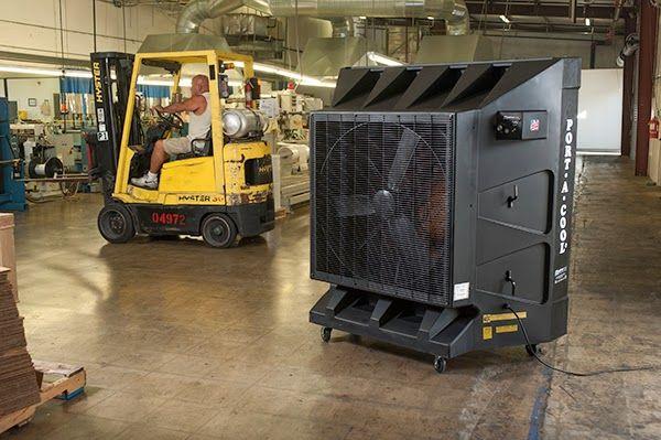 Enfriador Evaporativo - Port-A-Cool: Dónde alquilar enfriador evaporativo industrial?