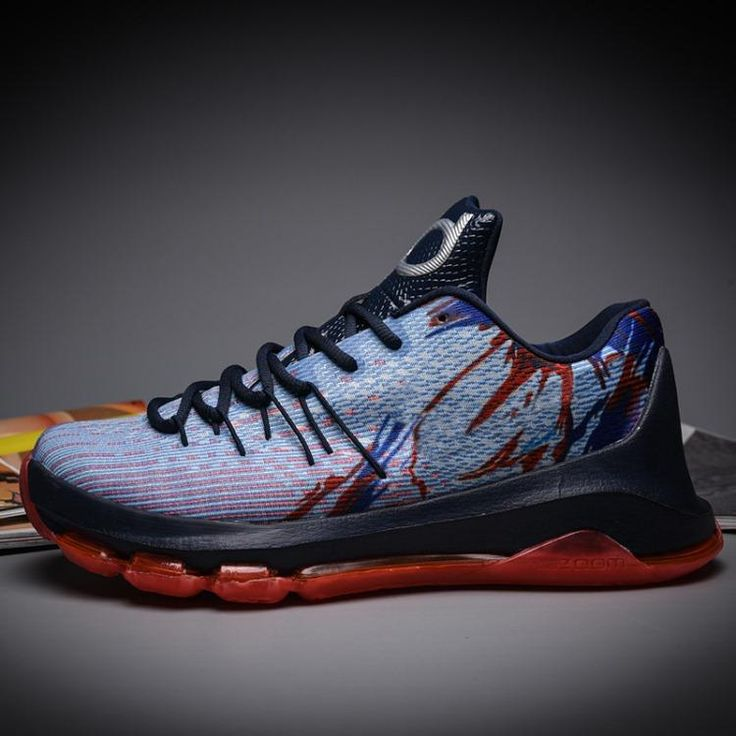 Wholesale Cheap Kevin #Durant #KD8 #sneaker shoes low shoe Mens  Independence Day D8