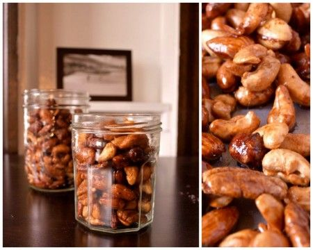 Chinese Five-Spice Candied #Nuts #snack