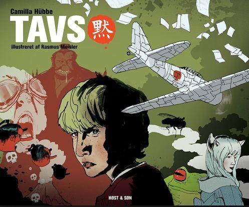 Roman og graphic novel fra ca. 7. klasse.  Den 13-årige Tavs sørger over tabet af sin tvilklingebror. Sammen med forældrene er Tavs flyttet til Tokyo, hvor han drages ind i en rejse mod sin døde bror. Findes som app på skolens iPads Bog og app.  Bog findes på CFU