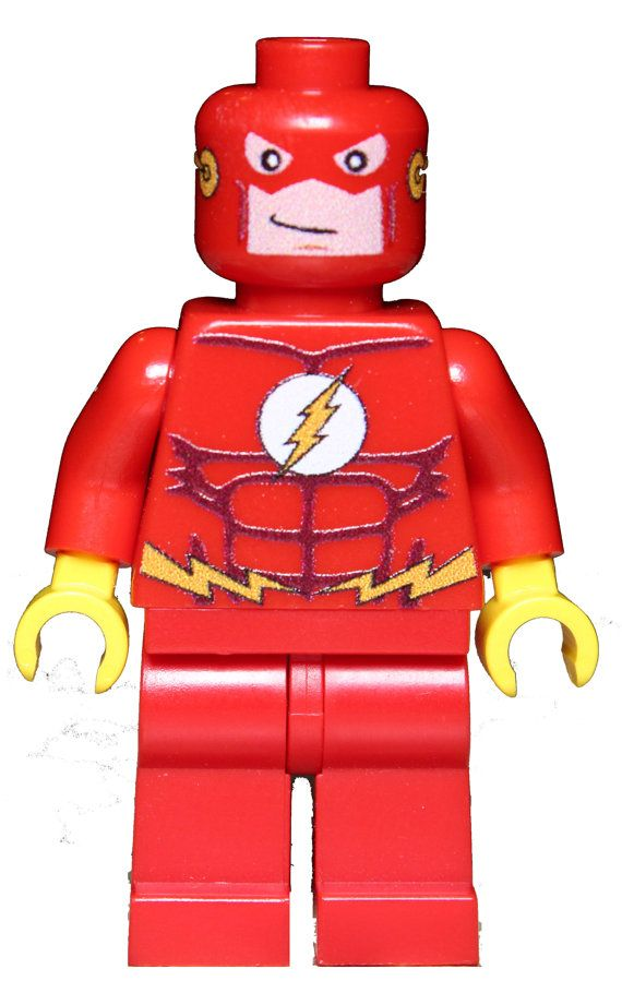 THE FLASH dc Superhero Custom Printed Figure made from ...