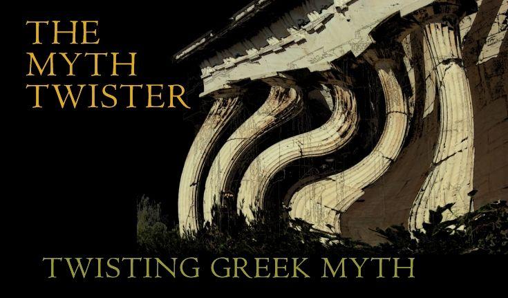Twisting Greek myth into stories.