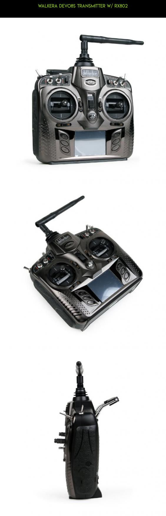 Walkera Devo8S Transmitter w/ RX802 #technology #walkera #plans #rtf #gadgets #products #shopping #fpv #helicopter #tech #drone #parts #racing #kit #camera